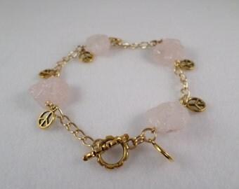 Rose Quartz Bracelete