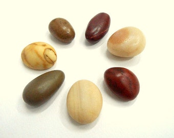 Beach Pebbles, Beach Stones, Sea Stones, Stone Beads