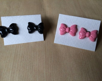 Kawaii Bow Earrings