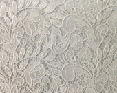 Ivory Tulip GuipureFrench Venice lace
