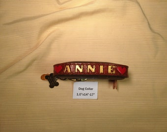 Custom Leather Pet Collars