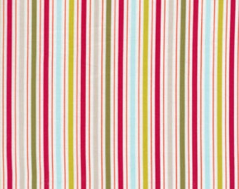 Cotton Fabric by Dena Designs for Free Spirit Fabrics  Kumari Garden Holiday Tanaya DF103-Green