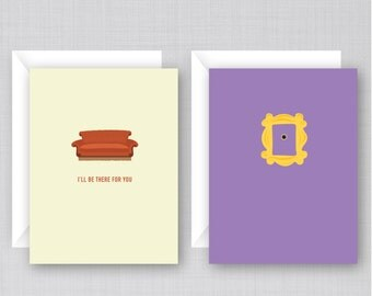 Friends TV Show Cards 10 Pack | Funny Friends Cards
