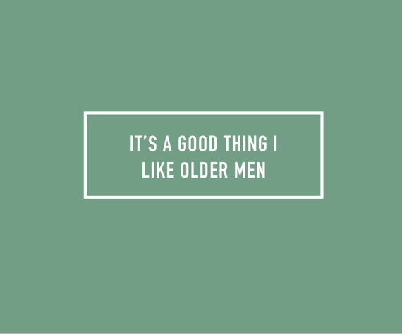 Older Men Birthday Card | Funny Birthday Card | Man Birthday Card