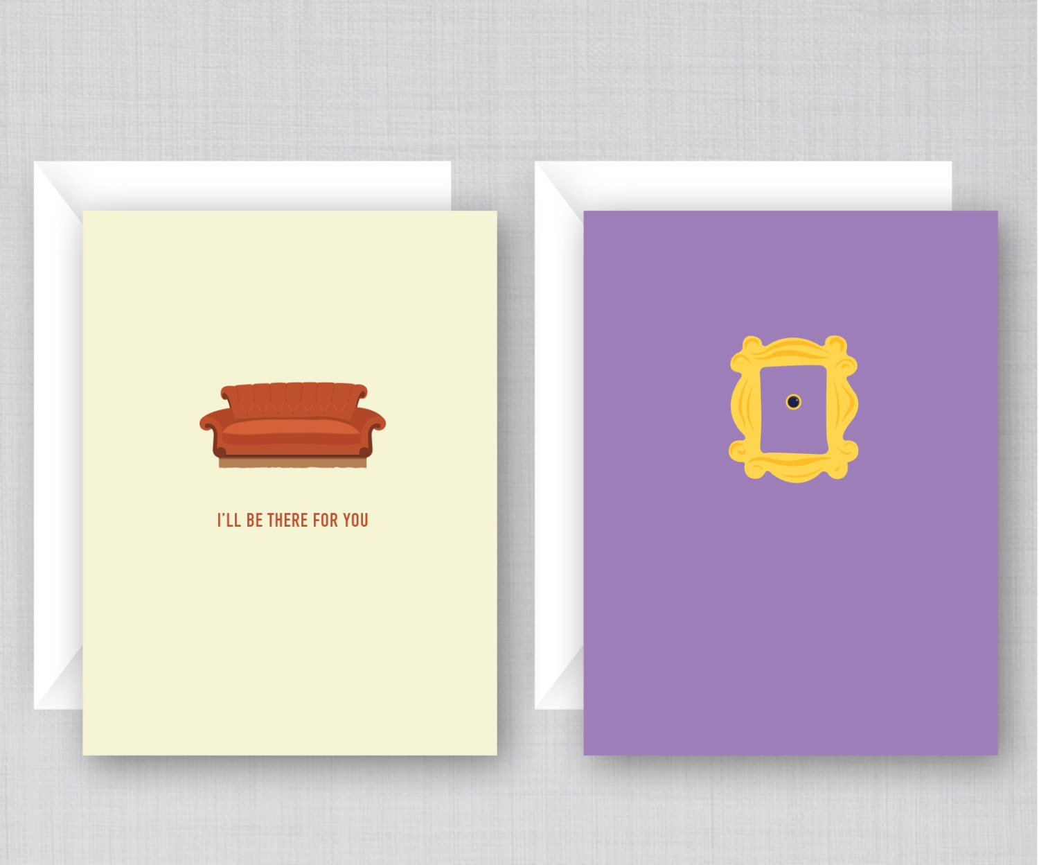 Cake Art Tv Show : Friends TV Show Cards 10 Pack Funny Friends Cards