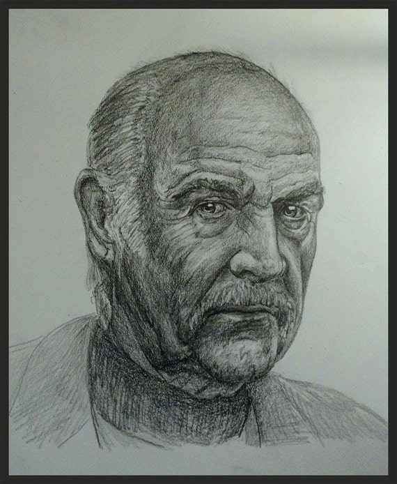 Custom pencil portrait drawn from your photo. Drawn by an Award-Winning Artist! Free shipping.
