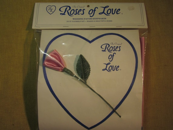 Roses Of Love Wedding Favors 50 Make Yourself Roses Rose