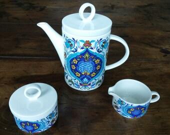 Villeroy & Boch Izmir Tea- or Coffee Pot Creamer and Sugar Bowl