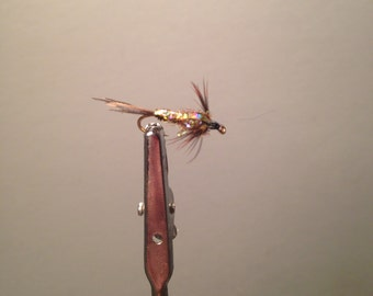 2 Size 14 Flashback Pheasant Tail Flies for Fly Fishing
