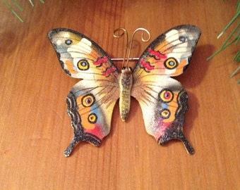 Butterfly Pin Vintage Brooch Pin - Beautiful Butterfly Brooch Pin MultiColor Unique Pin