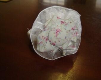 Bangle Bracelet, Shabby Chic, Rachel Ashwell fabric