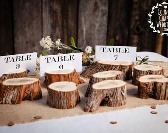 Log Table Numbers ~ Rustic Wedding Table Numbers ~ Barn Wedding Table Numbers ~ Country Wedding Table Numbers ~ Summer Wedding (TN2001)