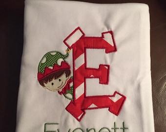 Christmas Elf tshirt for kids