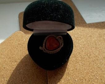 Red jasper wire work ring , Wire wrapped handmade jewellery , Genuine gemstone jewellery , Jasper jewellery , Gift for her , Wire jewelry