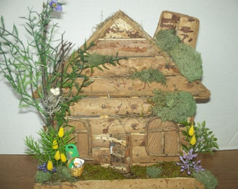 Wooden House \ Spring