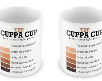 The Cuppa Cup Mug - Celebrations Gift Present birthday Christmas anniversary valentines work secret santa