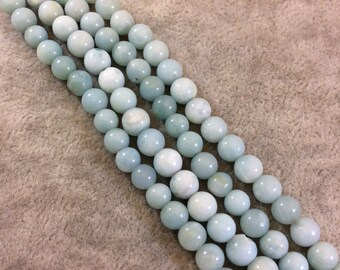 Amazonite Round Bead Strand, 6mm, approx. 67 beads per strand