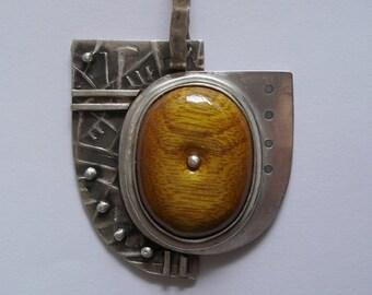 One of a Kind - Massive Silver Pendant