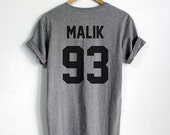 Zayn Malik shirt MALIK 93 Hipster tshirt tumblr Unisex Women,Men shirts Clothing