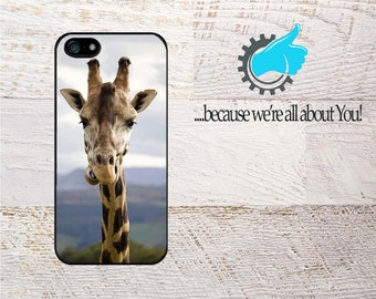 Giraffe iphone case, Custom Cover For iPhone 4/4s 5/5s 5c SE 6/6s 6+/6S+ 7 7+ Can be Monogrammed or add Name!