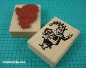 Punch Stamp / Invoke Arts Collage Rubber Stamps