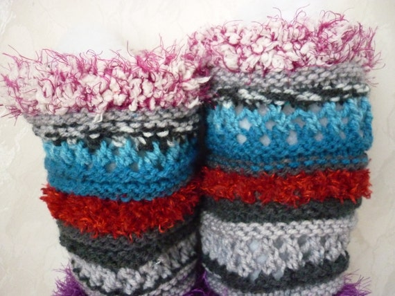 Mukluk Knitting Pattern : PATTERN Crochet boot slippers, Knitted Pattern boot, colorful slippers, croch...