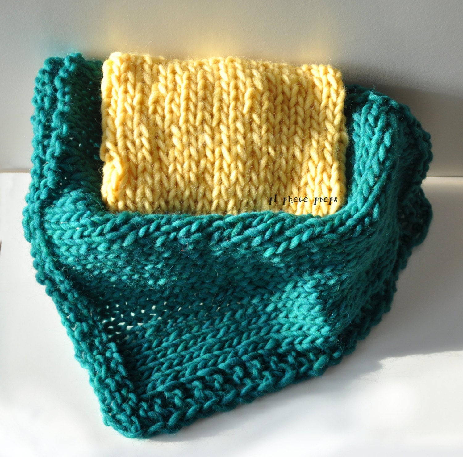 Chunky Knitted Baby Blankets Chunky knitted baby bl...