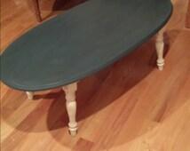 Vintage refurbished coffee table SOLD