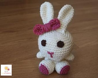 """Amigurumi Bunny Pink//""""Bunny"""" Amigurumi"""