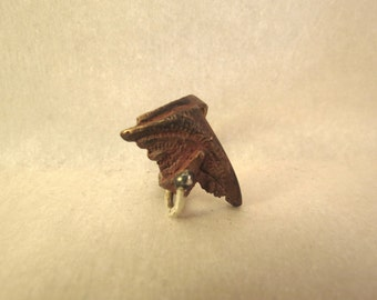Ring in bronze and silver