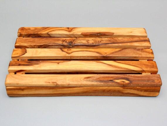 Olive wood rustic bread cutting board crumb by tunisiabazaar