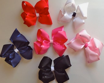 Satin Trim Bow