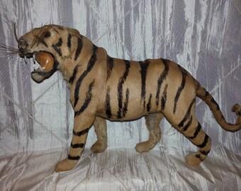 Fur Tiger Figurine