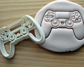 Play Station 4 Controller Kids Console Play Cookie Cutter -/- Brand New -/- Made To Order -/- Made From Biodegradable Material