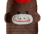 Skippy's Fantastic Sock Monkey Dog Sweater