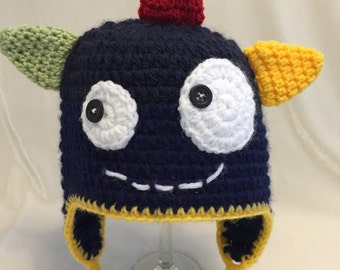 0-3 Months Silly Monster Hat, Ready to ship