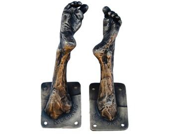 Bronze Foot Coat Hook 3