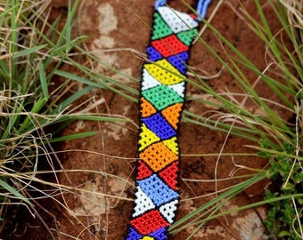 Beaded Bliss neck tie