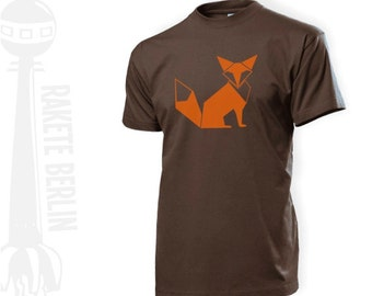 T-Shirt 'Fox geometric'