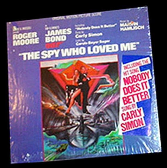 The Spy Who Loved Me Vinyl LP Carly Simon 1977 James BondThe Spy Who Loved Me Soundtrack Carly Simon