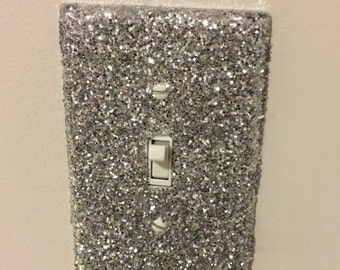 Glittered Light Switch Cover