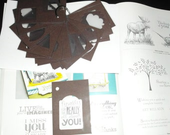 Stampin Up Cardstock Punch Ring Template
