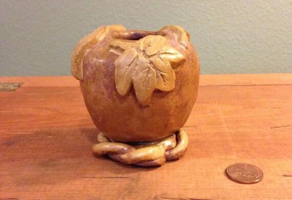 Cored Apple Sculpture