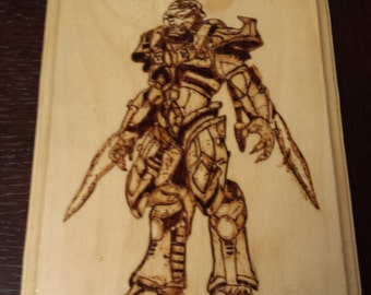 Protoss Zealot from the game starcraft and starcraft 2