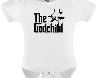 Funny Baby Bodysuit T-shirt Baby Child Infant Romper The Godchild Personalized Baby Onesie Vest Toddler Tee