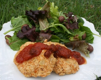 Chickpea Burgers Gluten Free, Dairy Free, Vegan, Paleo, Soy Free, Instant Download