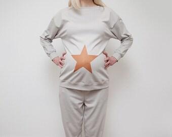Star Maternity pyjamas organic cotton