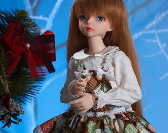 """BJD msd Outfit """"CheeseCake Choco"""""""
