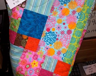 Gypsy quilt in pastel colors