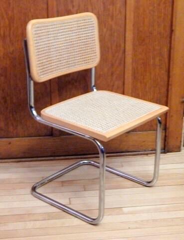 cesca chair marcel breuer made in italy danish modern. Black Bedroom Furniture Sets. Home Design Ideas